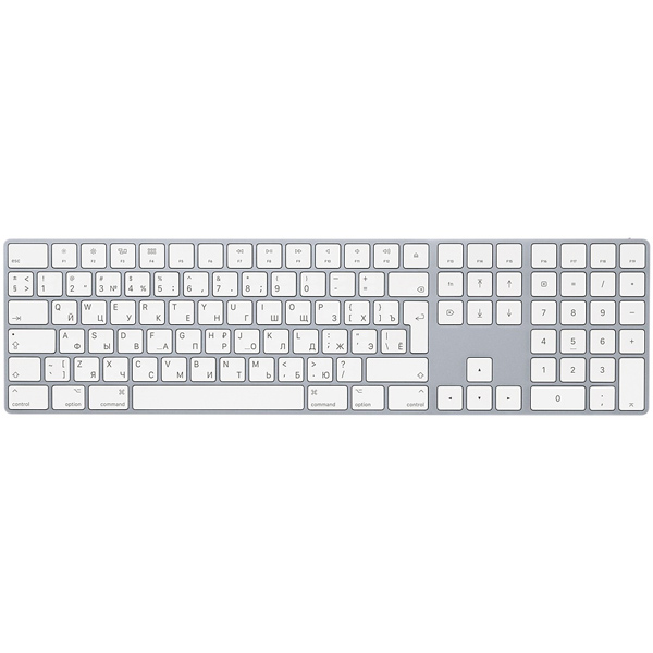 Клавиатура Apple Magic Keyboard with Numeric Keypad [MQ052RS/A]