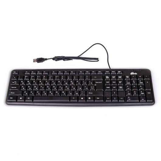 Клавиатура Ritmix RKB-103 USB черный