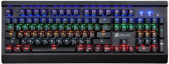 купить Клавиатура проводная Oklick 920G Iron Edge USB черный по цене 3520 рублей
