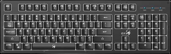 Клавиатура проводная Genius Scorpion K10 USB черный проводная проводная клавиатура и мышь набор клавиатура проводная мышь и клавиатура установлена компьютерная периферия