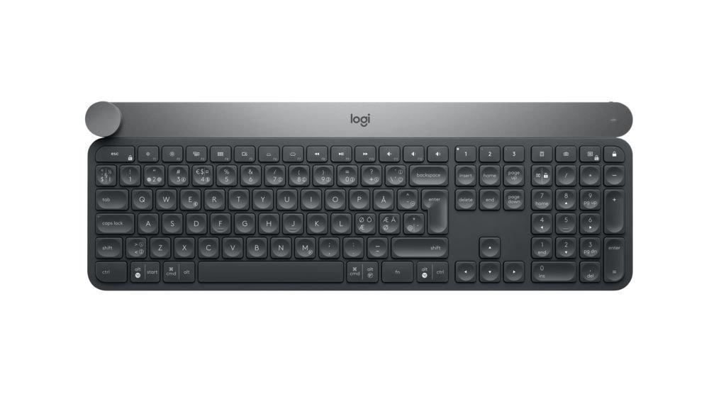 Клавиатура беспроводная Logitech Wireless Bluetooth Keyboard CRAFT (920-008505) беспроводная клавиатура logitech k230 wireless keyboard usb 920 003348