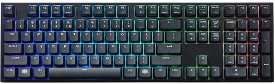 Клавиатура проводная Cooler Master MasterKeys Pro L USB черный SGK-6020-KKCR1-RU утюг ровента 6020