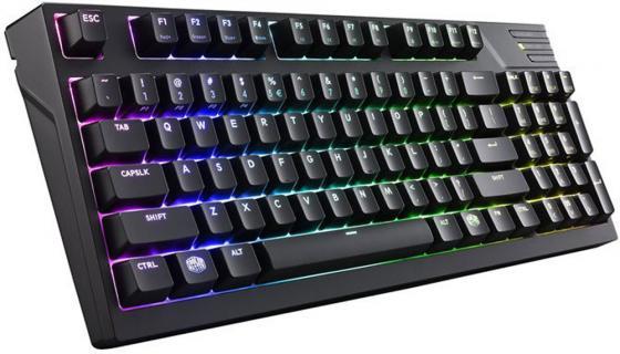 Клавиатура проводная Cooler Master MasterKeys Pro M RGB microUSB черный SGK-6040-KKCR1-RU