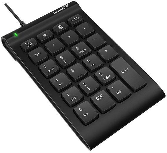 цена Цифровой блок клавиатуры Genius NumPad i130, USB, черный