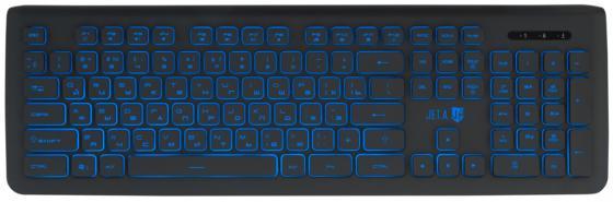 Клавиатура проводная Jet.A SlimLine K20 USB черный стоимость