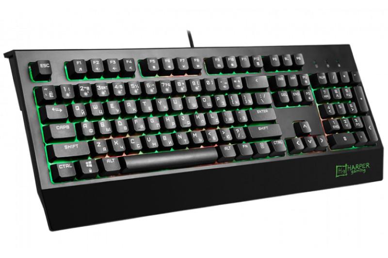 Клавиатура Игровая Harper Gaming Typhoon GKB-25 dominoes 2 typhoon pack ne