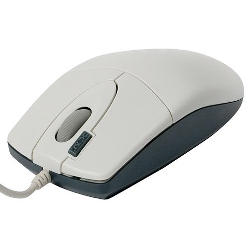 Мышь A4-Tech OP-620D (White) оптическая PS/2 цена