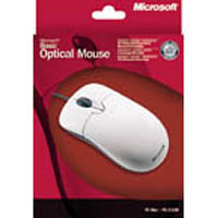 Мышь Microsoft Basic Optical USB (P58-000068) (1094) + переходник PS/2