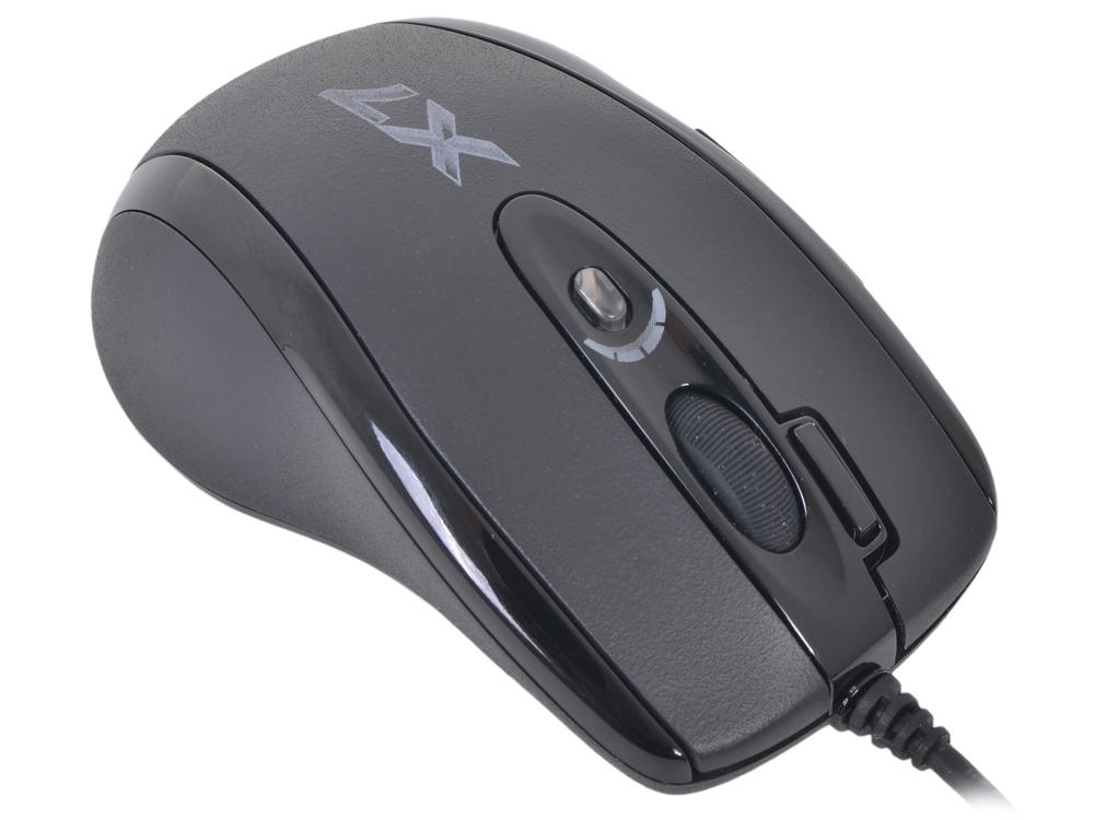 Мышь A4-Tech XL-750MK  USB (Чёрная) цены онлайн