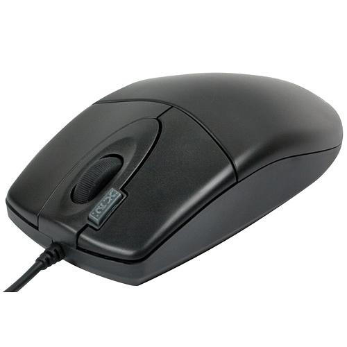 Мышь A4Tech OP-620D-U1, черная, USB, колесо-кнопка, кнопка 2хКлик, оптика, 800dpi