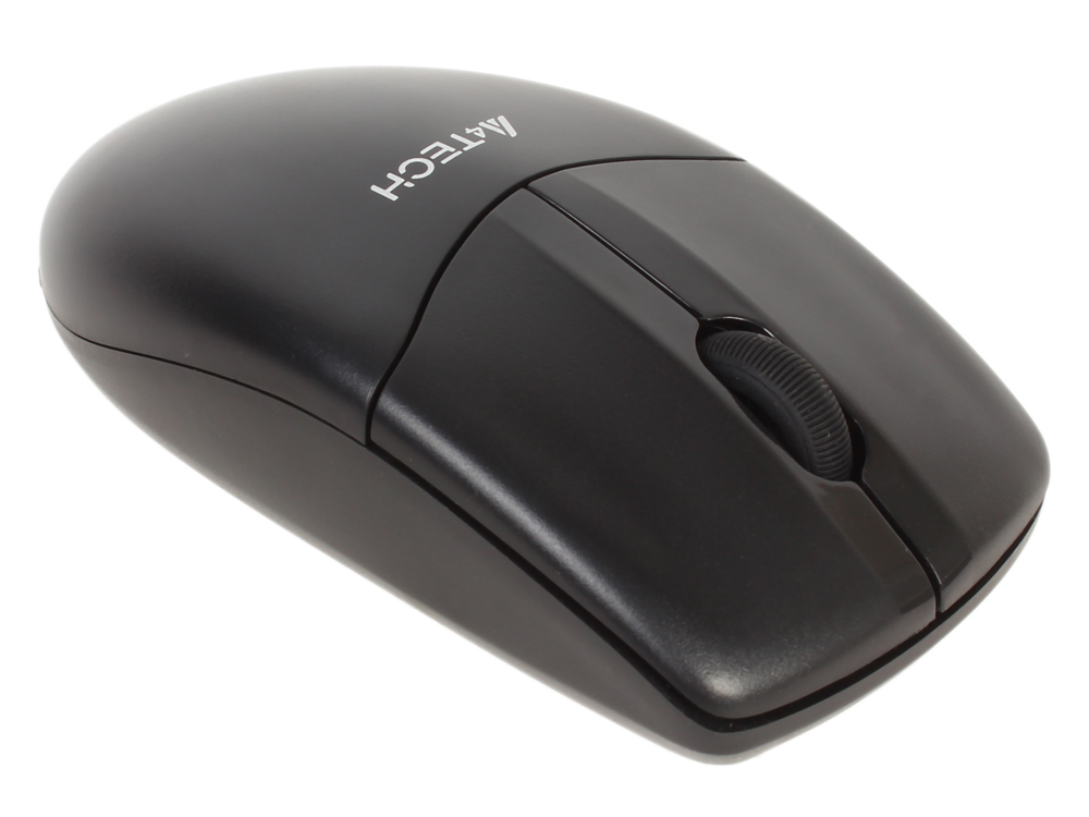 Мышь A4-Tech G3-220N-1 черный оптическая (1000dpi) беспроводная USB для ноутбука (2but) a4 tech n 250x 1