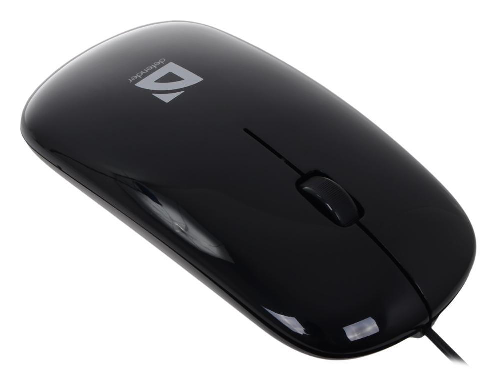 Мышь Defender  NetSprinter 440 B (черный),USB 2кн+1кл-кн, оптика