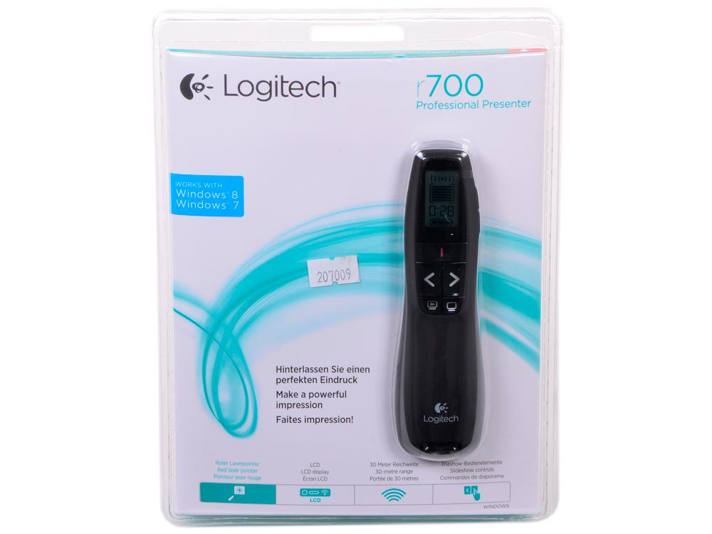 Презентер (910-003507)  Logitech Professional Presenter R700 logitech g303 daedalus apex 910 004382