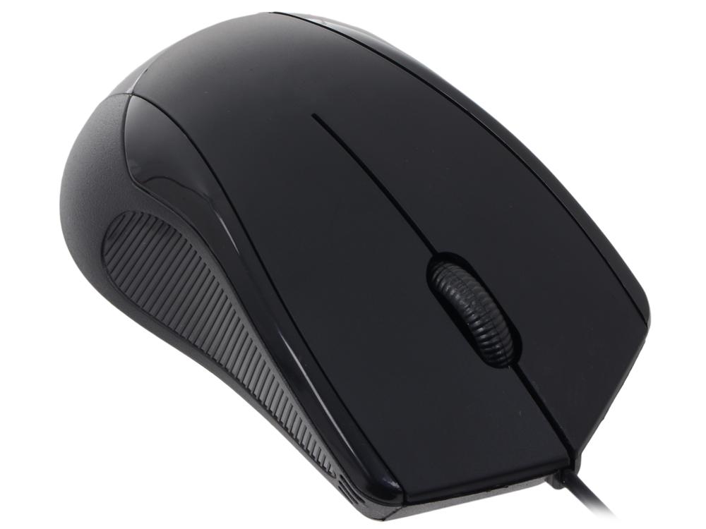 Мышь CBR CM-100 Black, оптика, 800dpi, офисн., USB, мышь cbr cm 500 grey