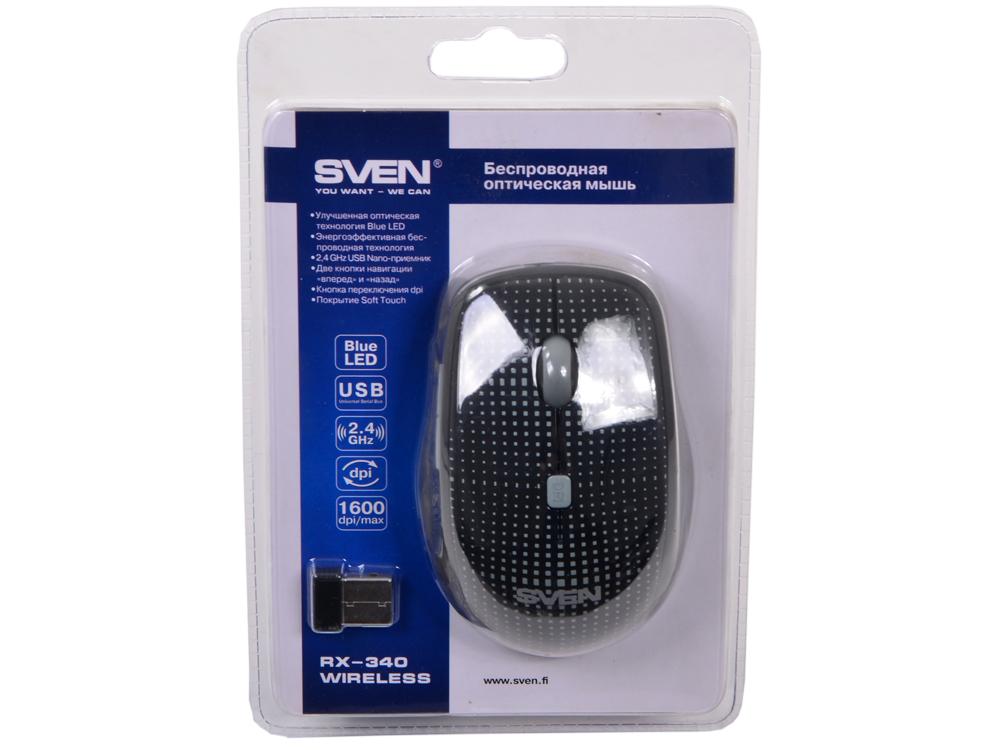 Мышь Sven  RX-340 Wireless черная