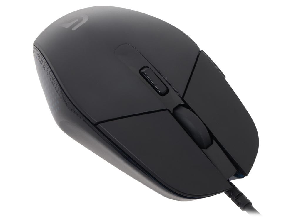 Мышь (910-004207) Logitech Gaming Mouse G302 Daedalus Prime USB 240-4000 dpi (G-package) мышь logitech gaming mouse g300s black usb 910 004345