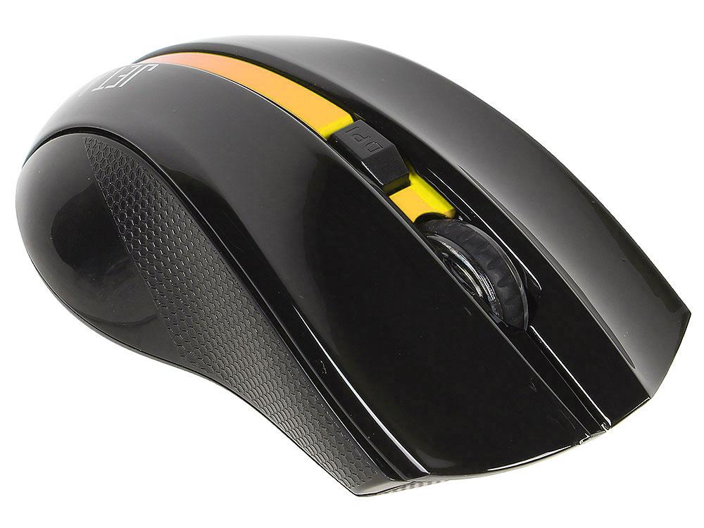 все цены на Беспроводная мышь Jet.A OM-U40G Yellow Comfort(800/1200/1600/2000 dpi, 5 кнопок, USB)
