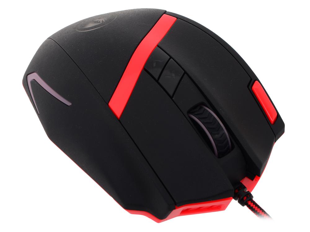 лучшая цена Мышь игровая REDRAGON MAMMOTH лазер,10 кнопок,50-16400 dpi