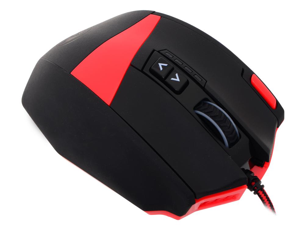 лучшая цена Мышь игровая REDRAGON FOXBAT лазер,19 кнопок,50-16400 dpi
