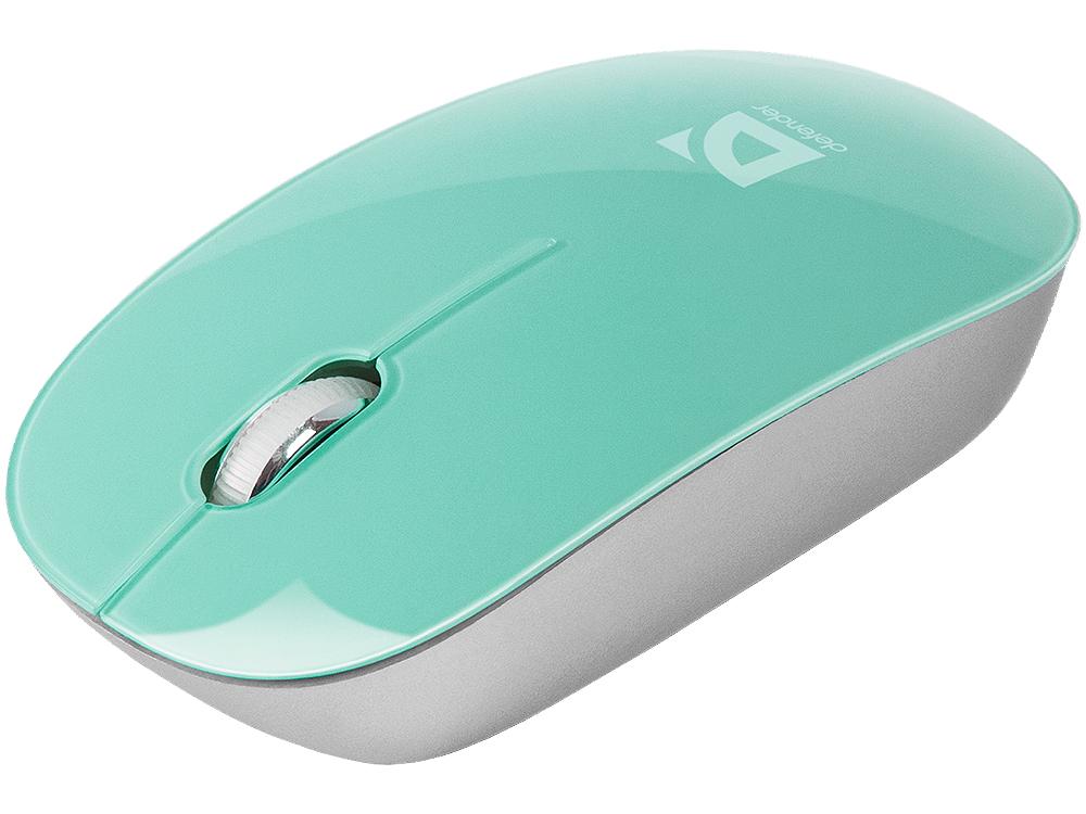 Мышь Defender  Laguna MS-245 зеленый,3 кнопки,1000dpi