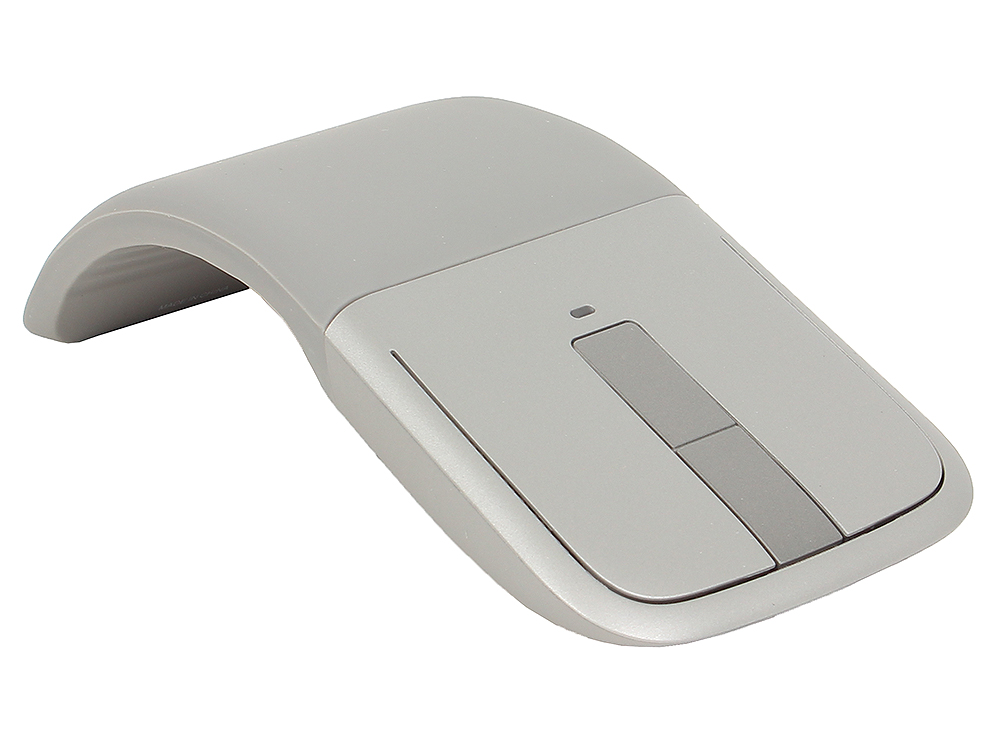 Мышь Microsoft ARC Touch Silver Retail Bluetooth (7MP-00005) от OLDI
