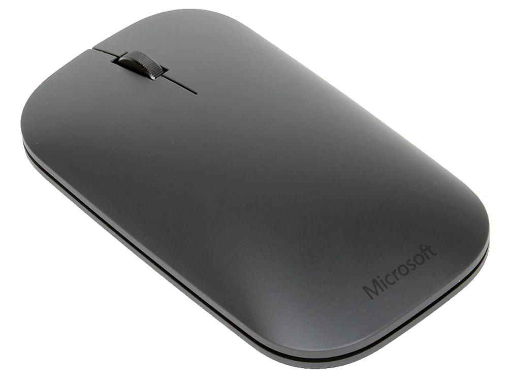 Мышь Microsoft Designer черный оптическая (1000dpi) беспроводная BT (7N5-00004) цена и фото