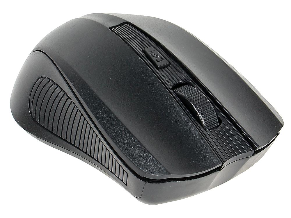 Беспроводная мышь SVEN RX-300 Wireless черная, BlueLED, 3+1(колесо прокрутки), 600/1000 dpi, симметричная