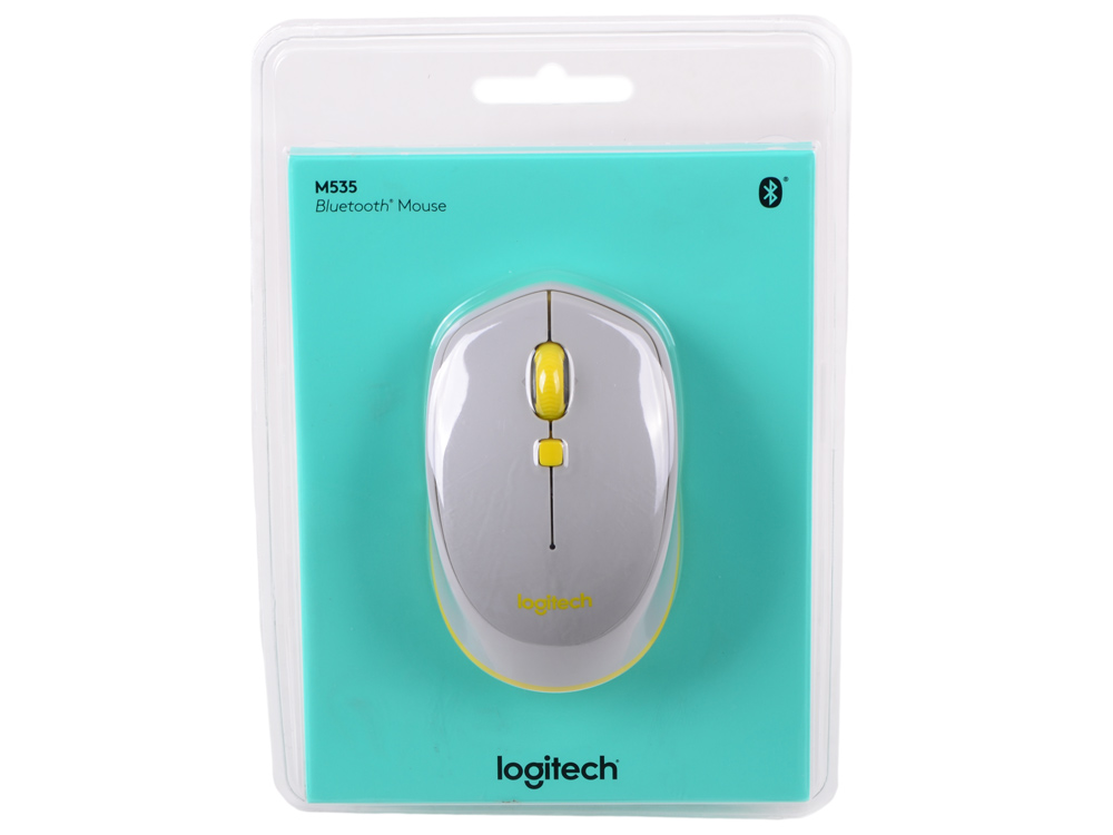Мышь (910-004530) Logitech Bluetooth Mouse M535 Grey