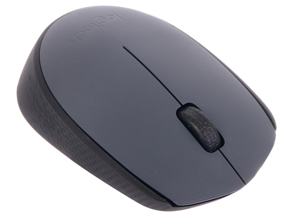 Мышь (910-004642) Logitech Wireless Mouse M170, Grey цена и фото