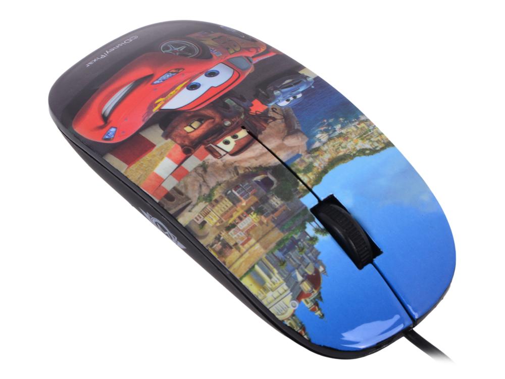 Мышь оптическая Cirkuit Planet DSY-MO111 Cars <проводная, USB 2.0, 1000 dpi, 2 кнопки+скролл>
