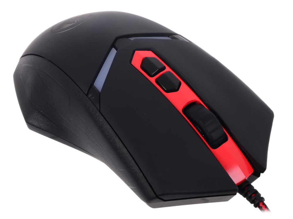 Мышь игровая Redragon Nemeanlion оптика,7кнопок,3000 dpi redragon nemeanlion black red usb