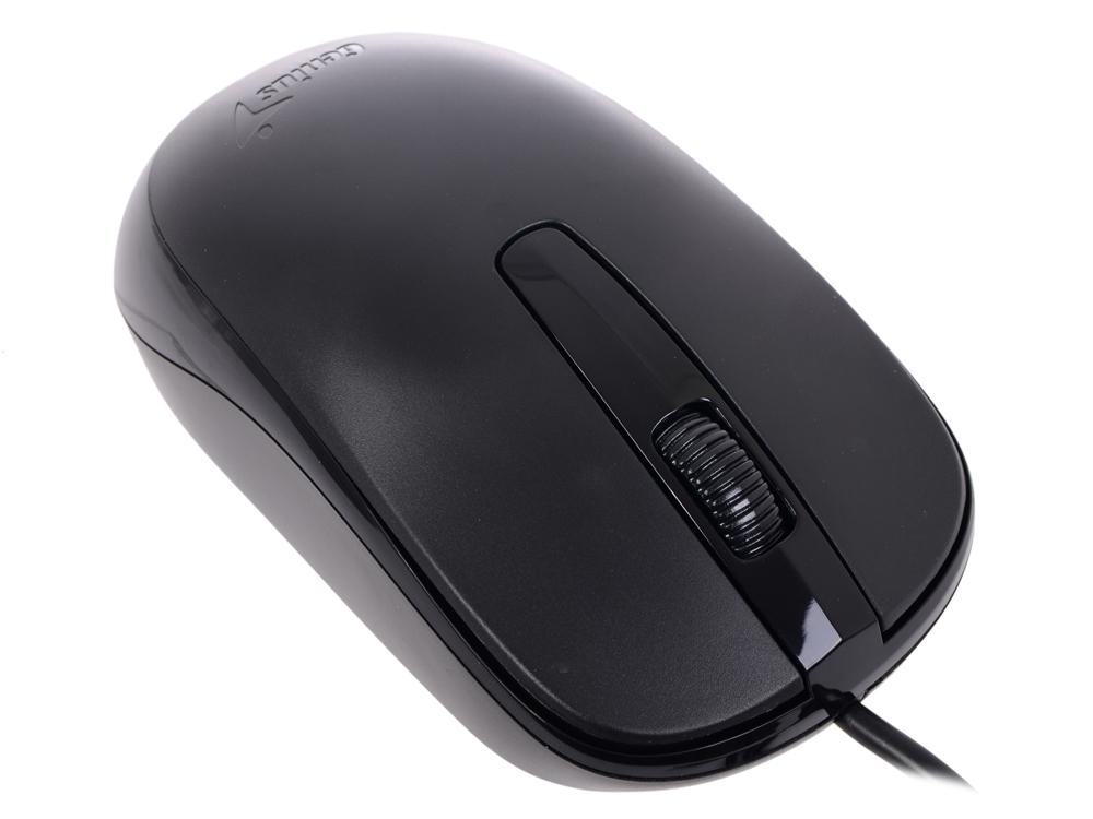 Мышь Genius DX-120 (USB), проводная, 1000dpi, USB, Black цена