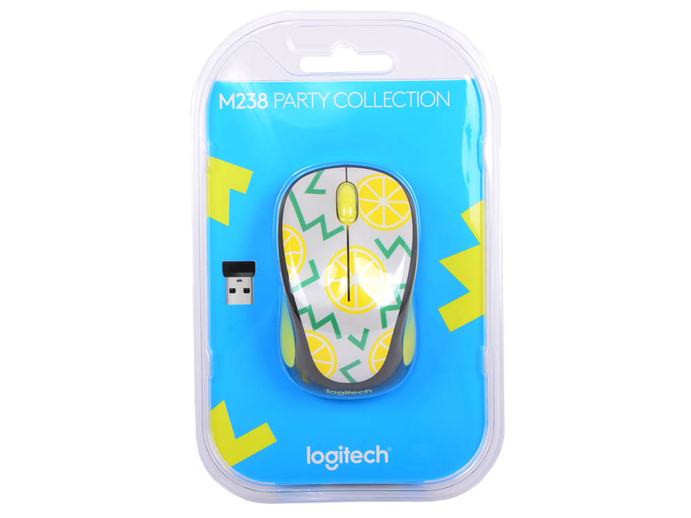 Мышь (910-004713) Logitech Wireless Mouse M238 Lemon. Производитель: Logitech, артикул: 0366485