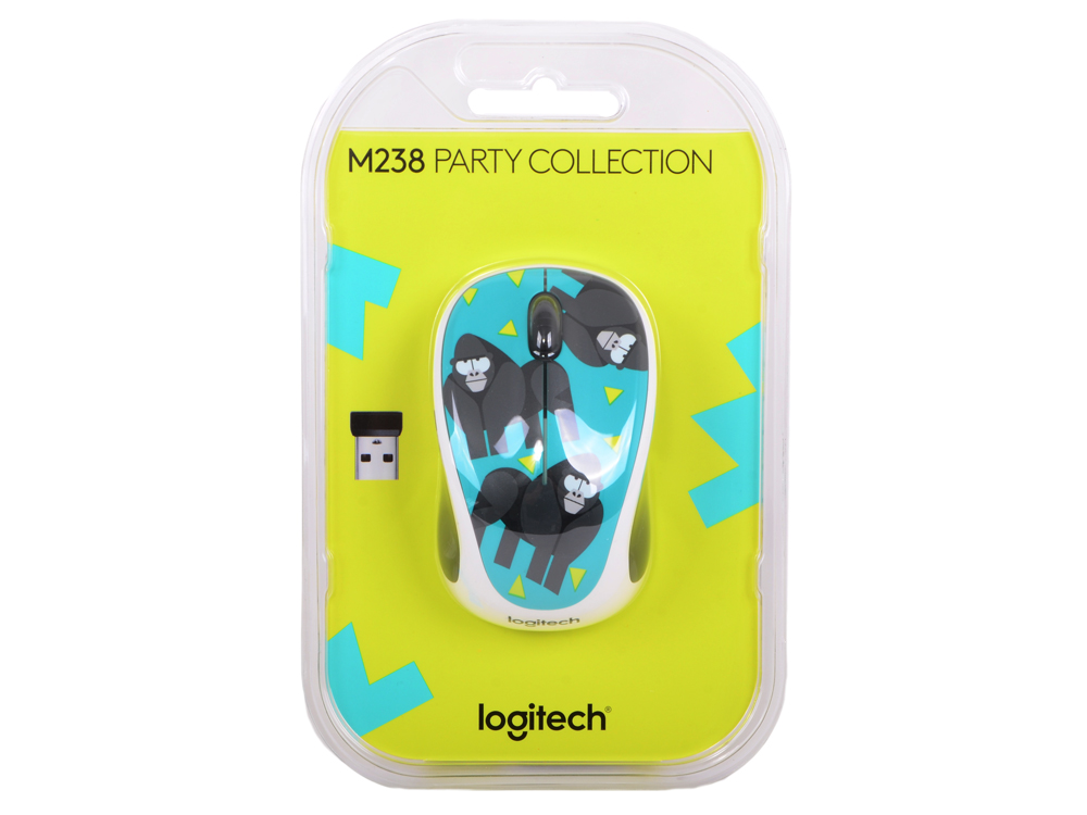 Мышь (910-004715) Logitech Wireless Mouse M238 Gorilla logitech m238 luke lion 910 004475