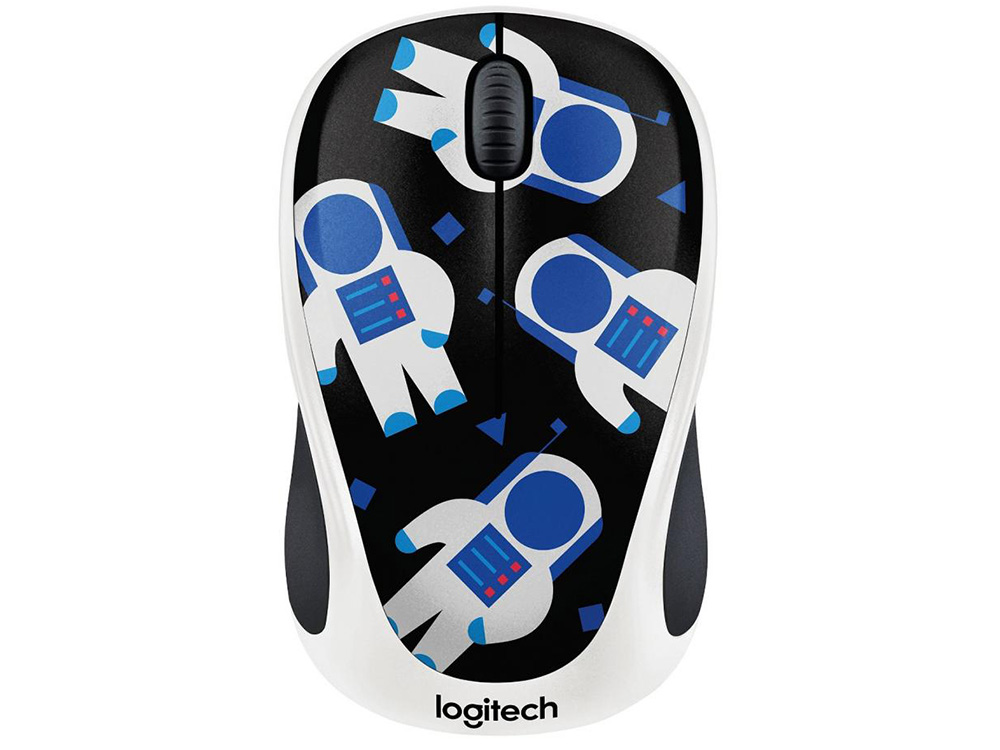 Мышь (910-004716) Logitech Wireless Mouse M238 Spaceman