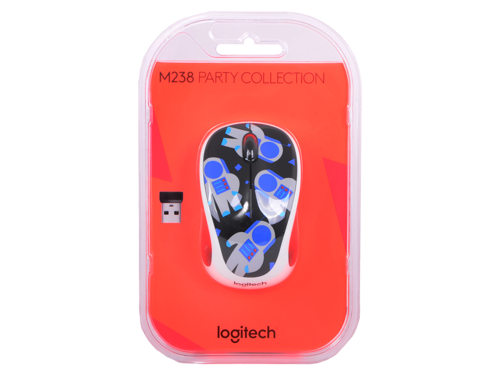 Мышь (910-004716) Logitech Wireless Mouse M238 Spaceman. Производитель: Logitech, артикул: 0366498