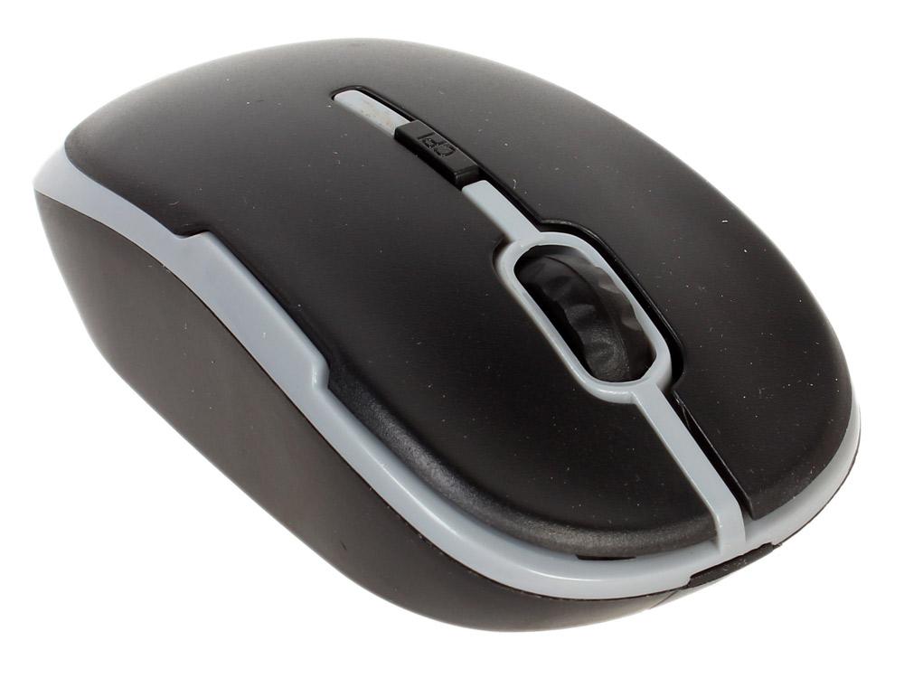 Мышь CBR CM-420 Grey, оптика, радио 2,4 Ггц, 1200 dpi, USB мышь cbr cm 500 grey