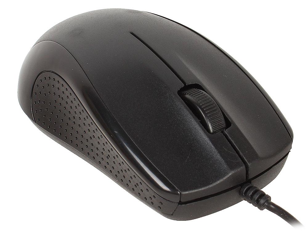 Проводная оптическая мышь DEFENDER Optimum MB-160 черный, 3 кнопки,1000 dpi, USB мышь defender optimum mb 150 черный ps 2