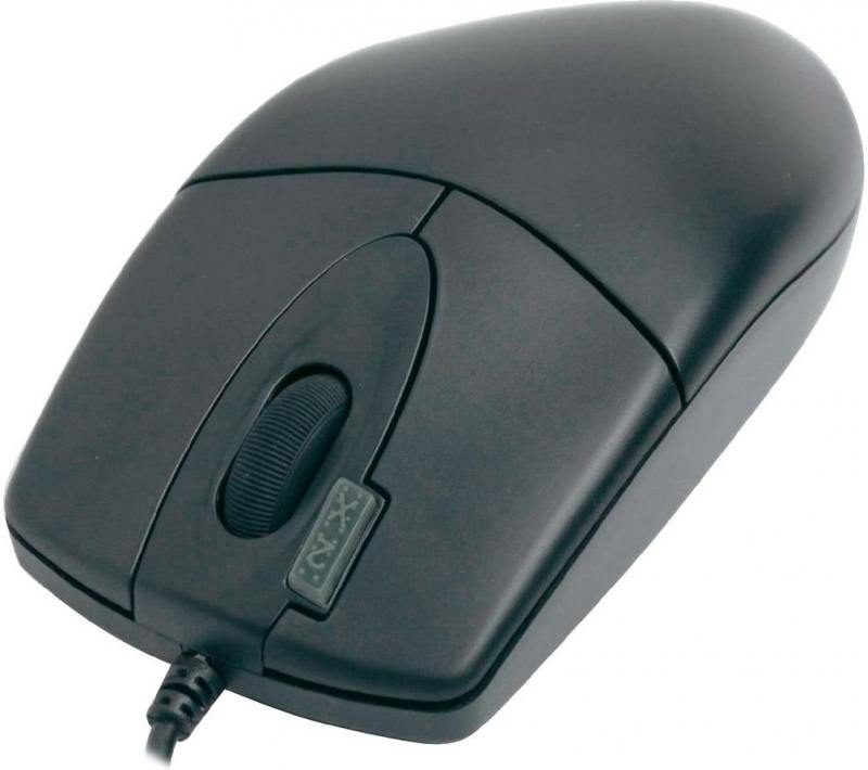 Мышь проводная A4TECH OP-620D чёрный USB 85694 мышь проводная a4tech op 620d u1 чёрный usb