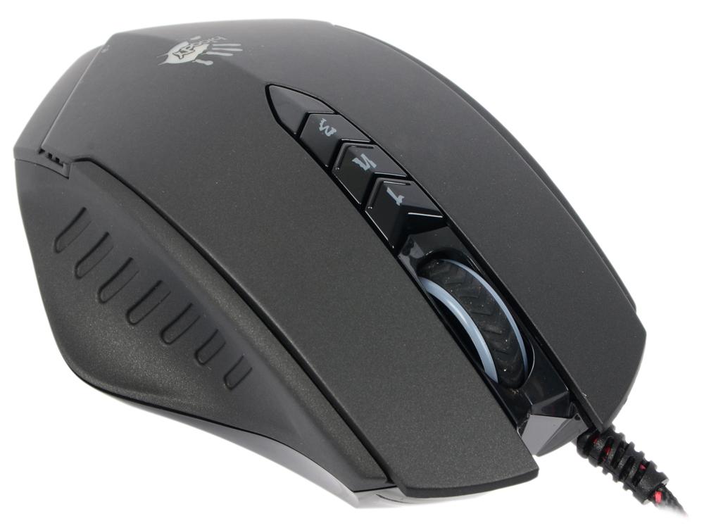 Мышь проводная A4TECH Bloody V8M чёрный USB цена