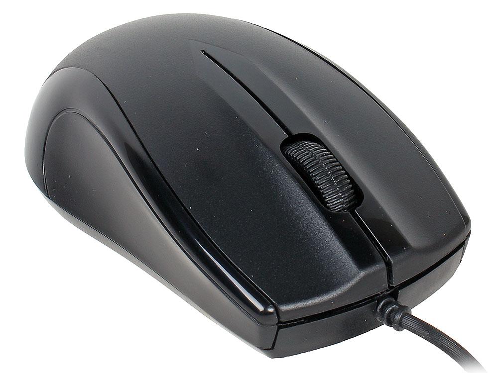 Мышь Gembird MUSOPTI9-905U, черный, USB, 1000DPI