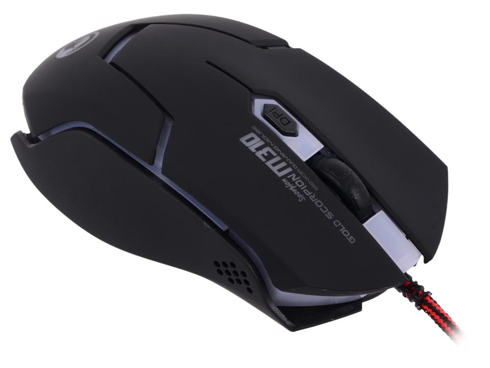 все цены на  Мышь Marvo M310 Black USB проводная, оптическая, 2400 dpi, 6 кнопок + колесо  онлайн