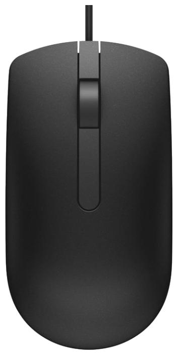 Мышь Dell MS116 черная (570-AAIR)