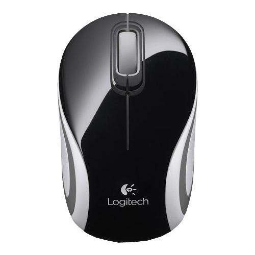 все цены на Мышь (910-002731) Logitech Wireless Mini Mouse M187, Black NEW онлайн