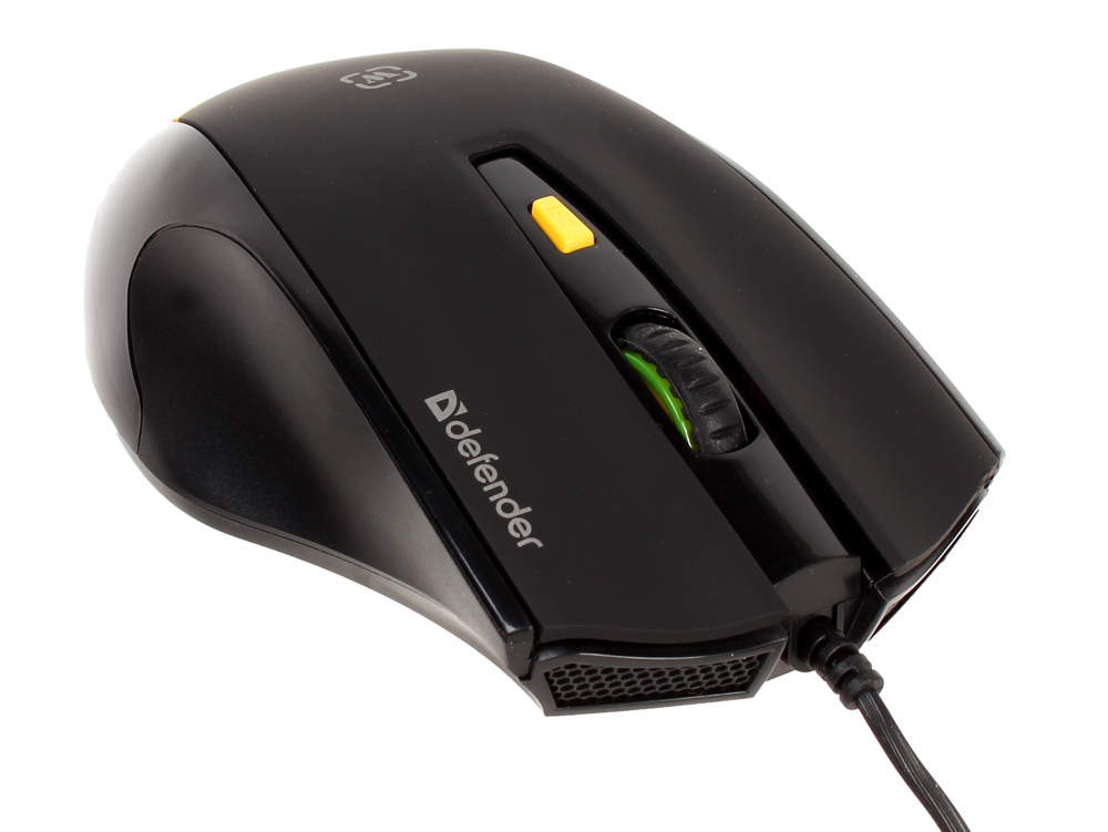 Мышь игровая Defender Warhead GM-1710 оптика,6кнопок,1200-3200dpi гарнитура defender warhead g 170 черный 64114