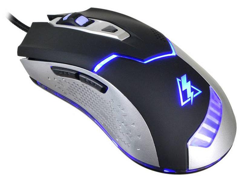 Мышь Oklick 875G черный/серебро оптическая (2400dpi) USB игровая (5but) pampers untuk kucing