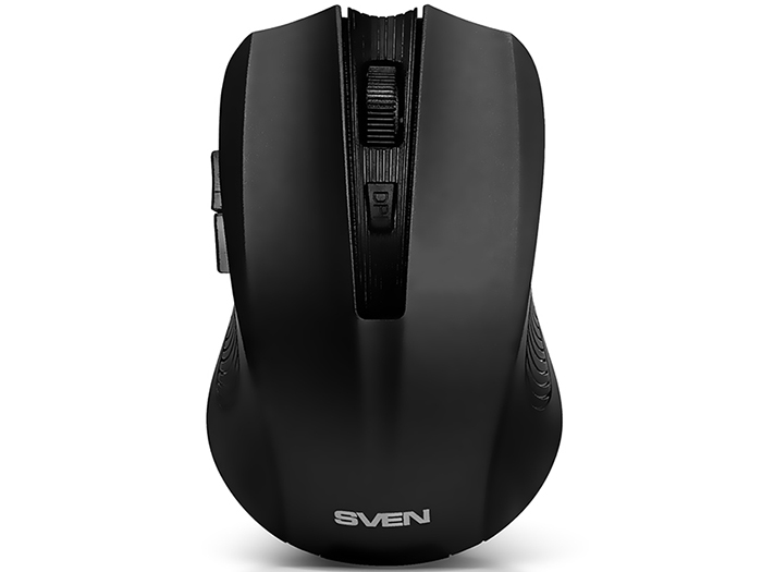 Мышь беспроводная Sven RX-345 чёрный USB SV-014148 стабилизатор sven avr slim 1000 lcd sv 012816
