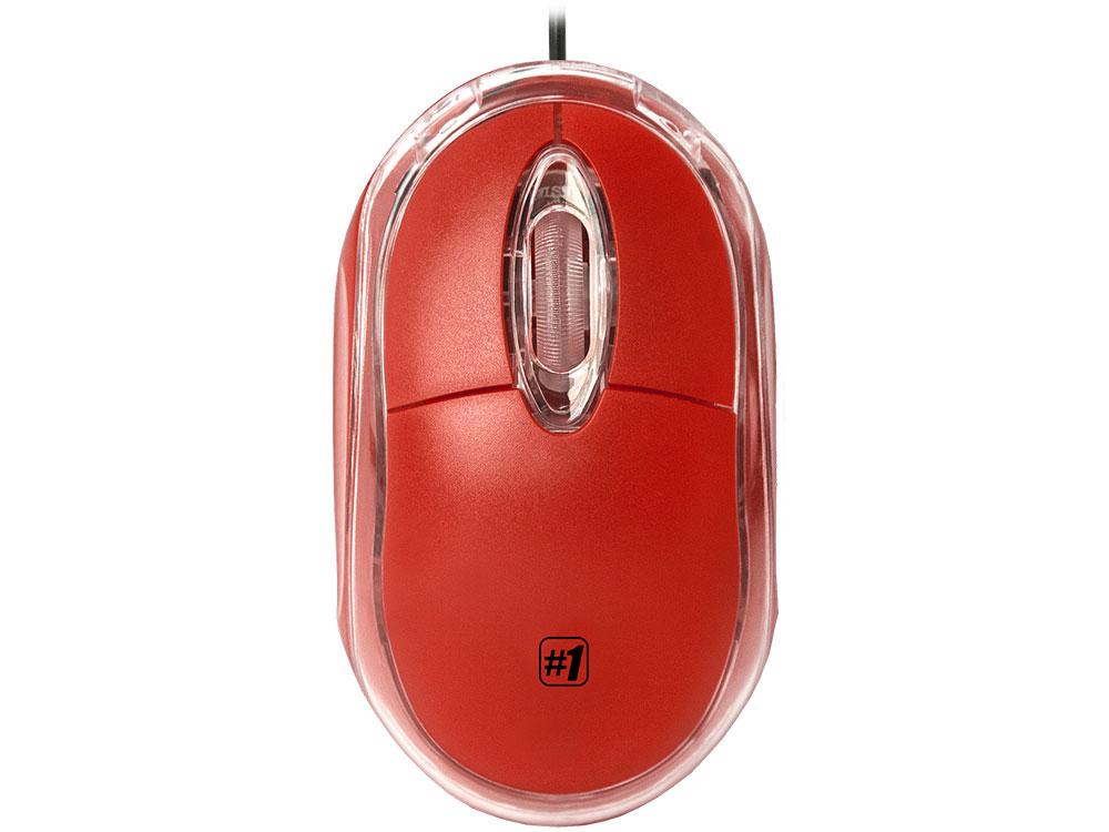 все цены на Мышь проводная DEFENDER MS-900 красный USB 52901 онлайн