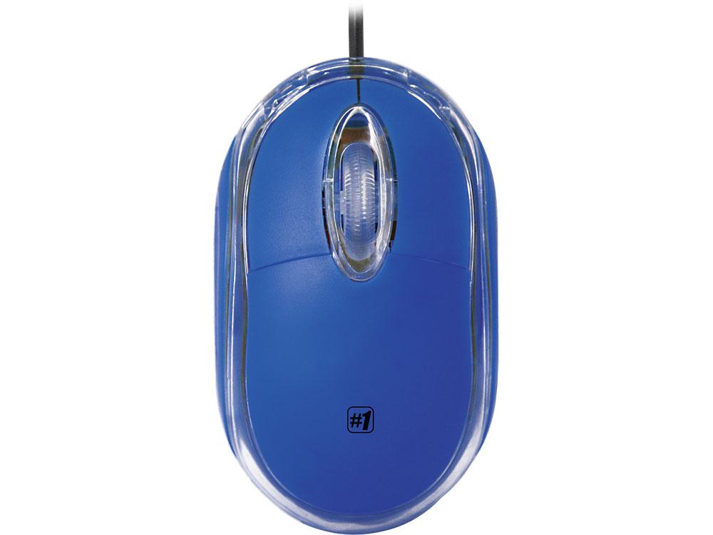 Мышь проводная DEFENDER MS-900 синий USB 52902