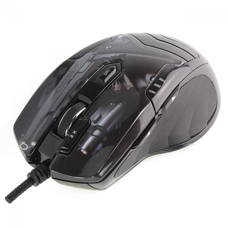 Мышь проводная Crown CMXG-703 Colt чёрный USB мышь проводная crown cmxg 606 синий чёрный usb